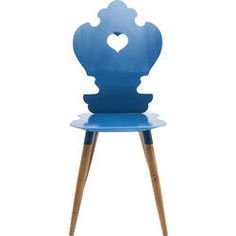 Chair  Adelheid Blue by KARE Design #blue #blau #bleu #chair #adelheid #KARE #KAREDesign