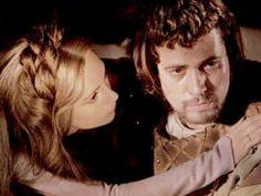 Jon Finch and Francesca Annis as Macbeth and Lady Macbeth in Roman Polanski's 1971 film