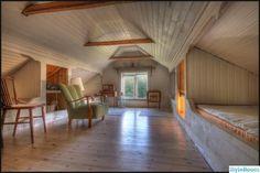 torp,sovloft,trägolv,Övervåning