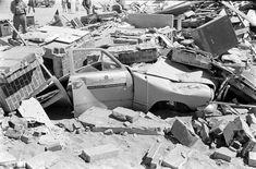 After an A-bomb test Nevada, 1955