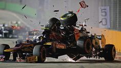 Michael Schumacher hit with 10-place grid penalty for Jean-Eric Vergne crash   Singapore Grand Prix   Formula 1 news, live F1   ESPN F1