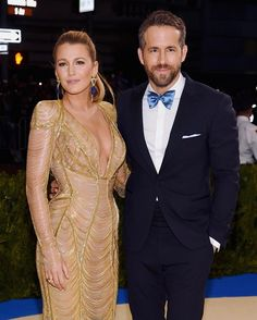 "2,007 Likes, 7 Comments - Access Hollywood (@accesshollywood) on Instagram: ""Just doesn't get more perfect than @blakelively & @vancityreynolds ♥️ #MetGala"""