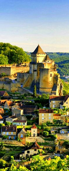 Dordogne, France ❤ This is where they filmed some of Ever After.