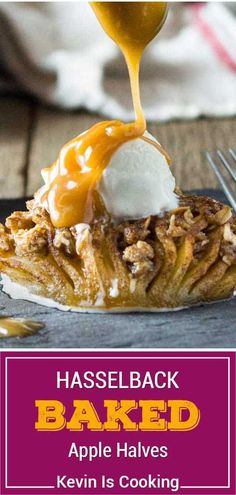 Baked apple halves are delicious, but cinnamon streusel stuffed baked apples are better! Make this recipe for an impressive fall dessert.