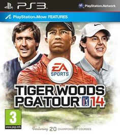 Tiger Woods PGA Tour 2014 PS3 & X360 now in stock. www.loungetime.co.uk - £36.97