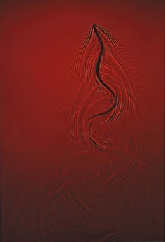 Adam Fuss, Untitled (Red snake in water)