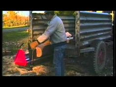 Fantastic Log Splitter Made From Car Parts - YouTube