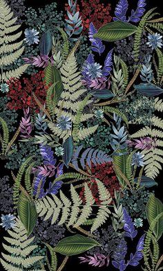 Wallpaper Pattern Floral Textile Design Ideas For 2019 Cool Wallpaper, Pattern Wallpaper, Wallpaper Backgrounds, Iphone Wallpaper, Pattern Floral, Illustration Art, Illustrations, Montage Photo, Psychedelic Art