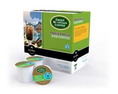 Brew Over Ice K-Cup packs
