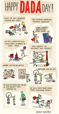 INCIDENTAL COMICS: Dada Day