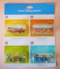 POCKET TOMICA Tokyo Disney Resort Cruiser Line Train Bus TAKARA TOMY JAPAN 4 set