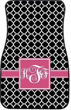 Car Mats Monogrammed Gift Ideas Car Accessories by ChicMonogram