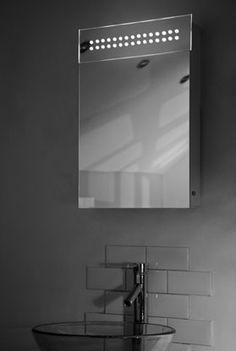 Spiegelkast met tl en stopcontact - 40x60 cm