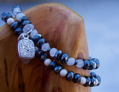 New Beginnings: Boho Chic Chakras Yoga Healing Jewelry Hematite & Moonstone by ChakrasYoga on Etsy