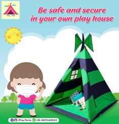 Kids Teepee Tent, Play Tents, Teepees, Childrens Tent, Tent Sale, Kids Room, Room Decor, Camping, India