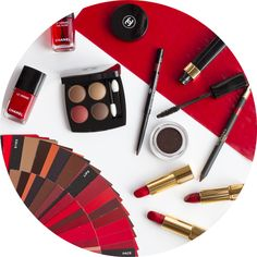 Chanel Le Rouge - Collection N?1: when red takes over  http://www.beautiqueblog.com/blog/2016/10/4/chanel-le-rouge-collection-n1-when-red-takes-over