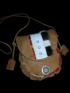 Reindeer leather bag