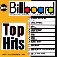 bfdcdfb2df9 Billboard Top Hits  1986 - Google Search Billboard Top 10