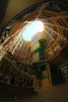Casa Milà Casa Milà Better Known As La Pedrera Is A Building Designed By The Catalan Architect Antoni Gaudí And Built During Casa Milà Antonio Gaudí Gaudi