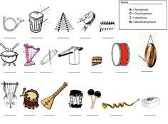 Ethnomusicology: Music Worksheet