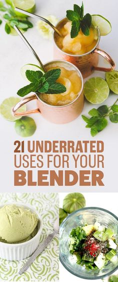 21 Underrated Uses For Your Blender - some actually use food processor