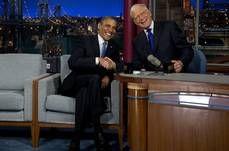 10 Obama: Presidents 'work for everyone'  President Obama and David Letterman  September 18, 2012