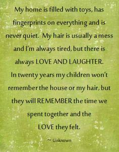 Love this, make memorable memories