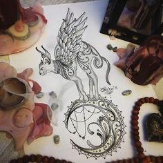 Bastet Tattoo Idea …