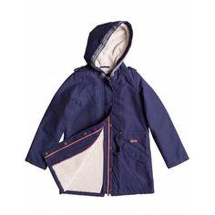 NEW KIDS | @roxy GIRLS High The Moon Navy Fleece Lined Jacket.  #roxy #warrnambool #surf #autumn #newstock #shoplocal #shop3280 #fashion3280 by thesurfco
