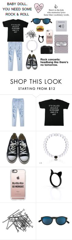 """""""TØP"""" by be-your-own-inspiration ❤ liked on Polyvore featuring Converse, CO, Casetify, H&M, RetroSuperFuture, music, rock, bands and twentyonepilots"""