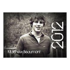 graduation announcements 2012