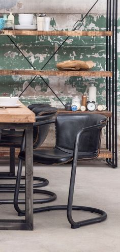 Industrial Dining Chairs Our urban style industrial dining chairs are available…