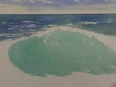 Watercolor Ocean - Crashing Waves (Part 1) - YouTube