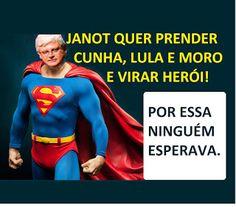 MICO LEÃO DOURADO: JANOT QUER PRENDER CUNHA, LULA E MORO E VIRAR HERÓI NACIONAL!
