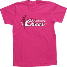 custom cheer cheerleading cheerleader t shirt tee high school design - Cheer Shirt Design Ideas