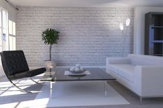 faux brick wallpaper