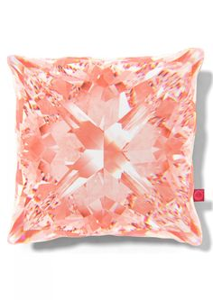This eye-catching Manhattan Chase Cushion by Carmine Lake features different patterns front and back that simulates light refracting through real diamonds.  Modern and sumptuous in look and feel.