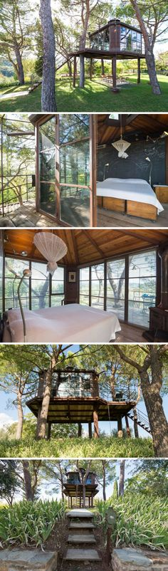 A treehouse in Tuscany you can rent via Airbnb