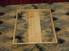 Quirks and Progress: How to Make an Ottoman Diy Storage Ottoman Coffee Table, How To Make Ottoman, Wood Sofa, Home Living Room, Slipcovers, Plant Hanger, Decorating Tips, Farm House, Stools