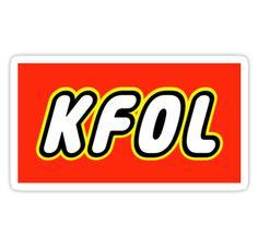 """KFOL Kid Fan by Customize My Minifig"" Stickers by ChilleeW | Redbubble"