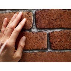 Papier Peint Briques rouges orangées KOZIEL