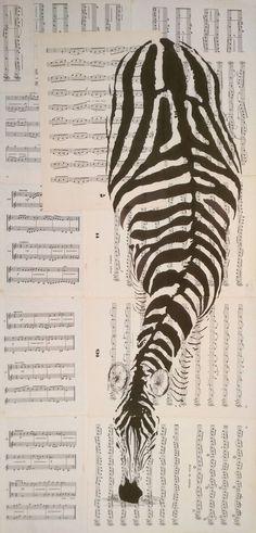 "Up to 14/"" /<Cat/> canvas Animals Original B//W Prints Realism Small 0.25/"" border"