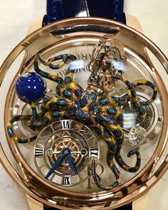 Crazy Cool, Jacob & Co. Limited edition Astronomia Clarity Octopus.