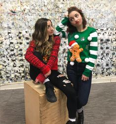 Christmas sweaters for the win