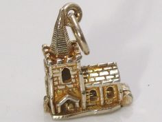A Fine Vintage Sterling Silver Opening Church by JulesJewellers