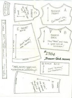 dream girl pattern