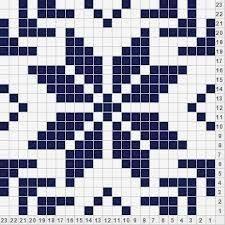 Resultado de imagen para snowflakes pattern knitting