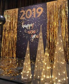 Formal Party Decorations, New Years Eve Decorations, Graduation Decorations, Stage Decorations, Prom Decor, Christmas Party Backdrop, Church Christmas Decorations, Xmas Party, Christmas Stage Design Backdrops