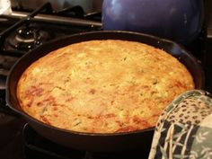 This savory cornbread is a delicious addition to your Thanksgiving feast, whether it is in your breadbasket, or made into a superb stuffing with some fresh sage from your garden..