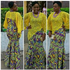 iLove Aso Ebi Lace Styles, African Lace Styles, African Maxi Dresses, Latest African Fashion Dresses, African Print Dress Designs, African Design, African Wear, African Women, Samoan Designs